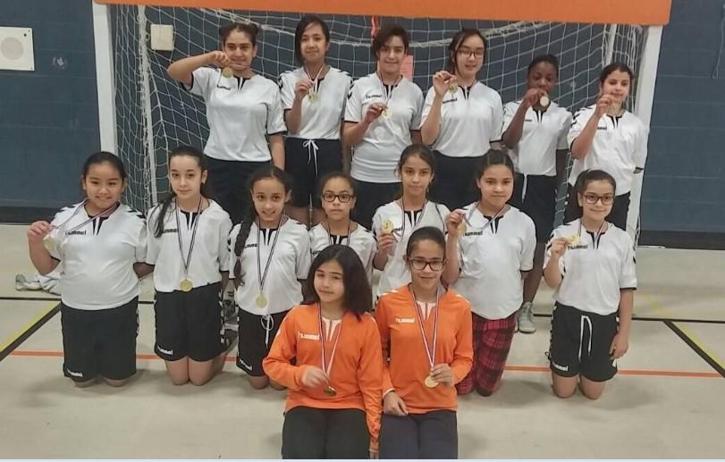 Felicitations A L Equipe Feminine De Handball De Bfa Ecole Bois
