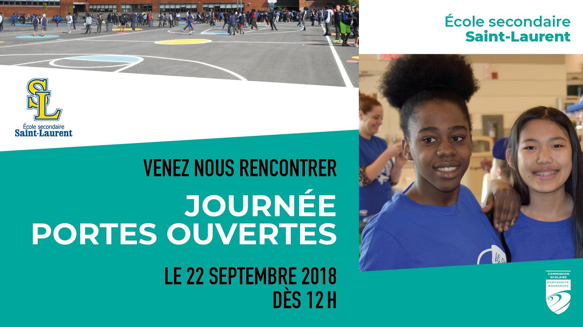Portes Ouvertes A L Ecole Secondaire Saint Laurent Ecole Bois