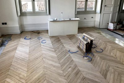 0151 Pose parquet bordeaux