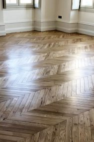 0194b Pose parquet bordeaux