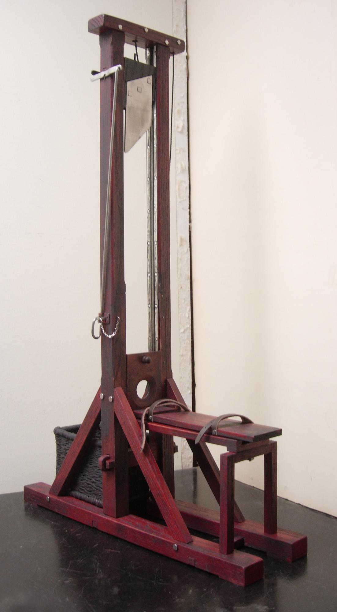 Guillotine 1820