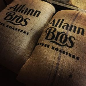Allann Bros coffee bags