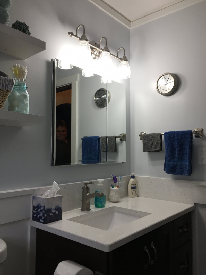 Boise Bench Bathroom Remodel With Custom Surround