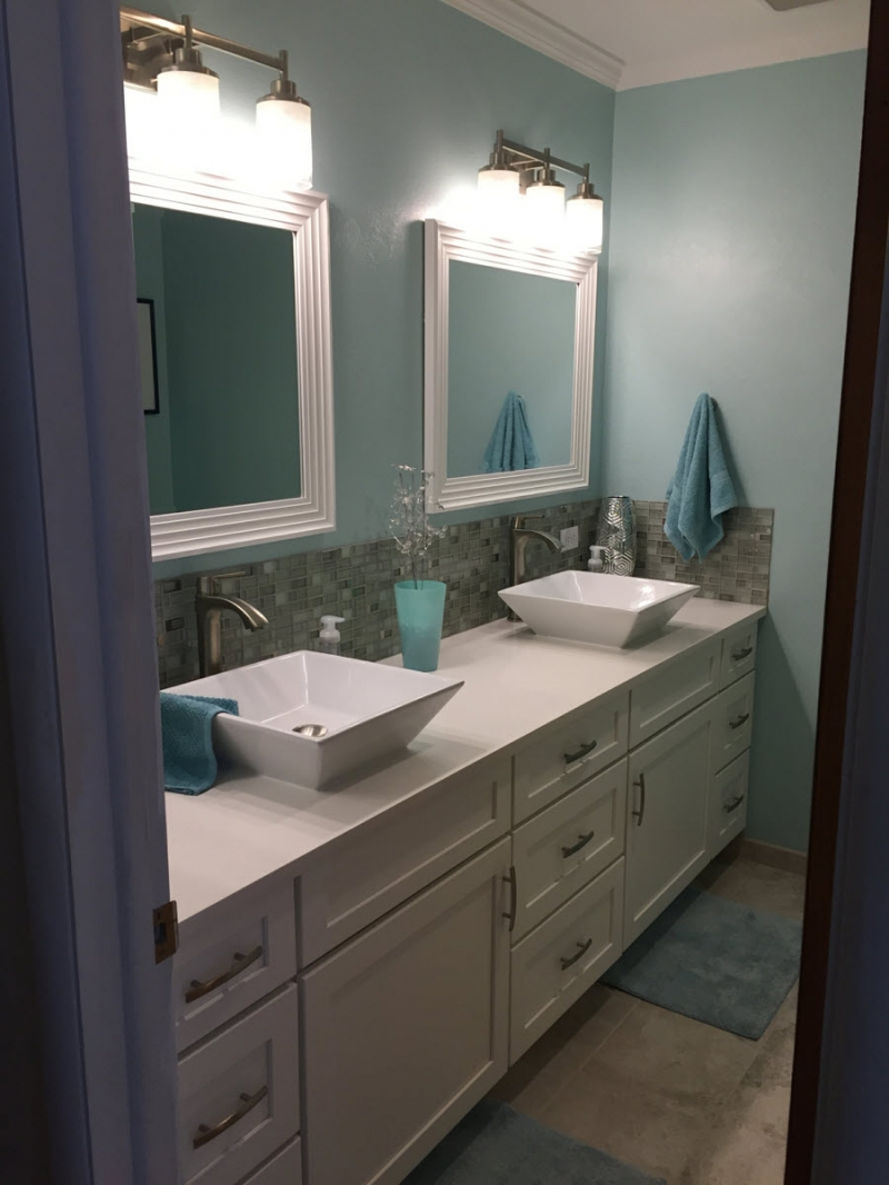 Boise MidCentury Modern Style Kitchen  Bath Remodel