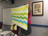 Quilt made using the Quick Curve Ruler.