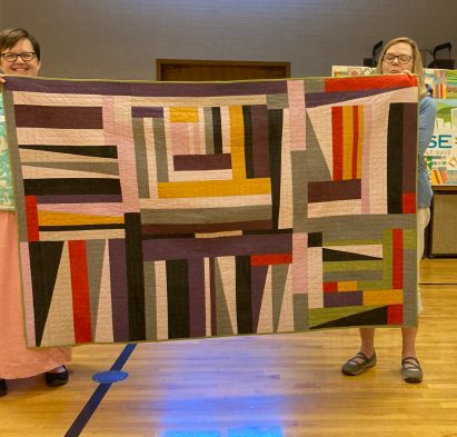 Lynne's Gees Bend quilt