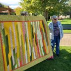 Marilyn's jelly roll quilt