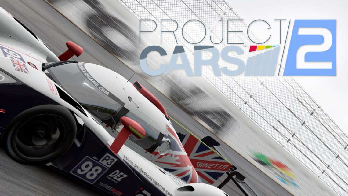 Project Cars 2 voit en rouge Ferrari !