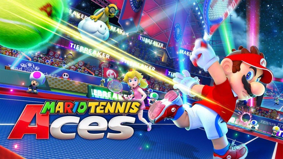 Mario Tennis Aces Nintendo Direct du 08-03-18
