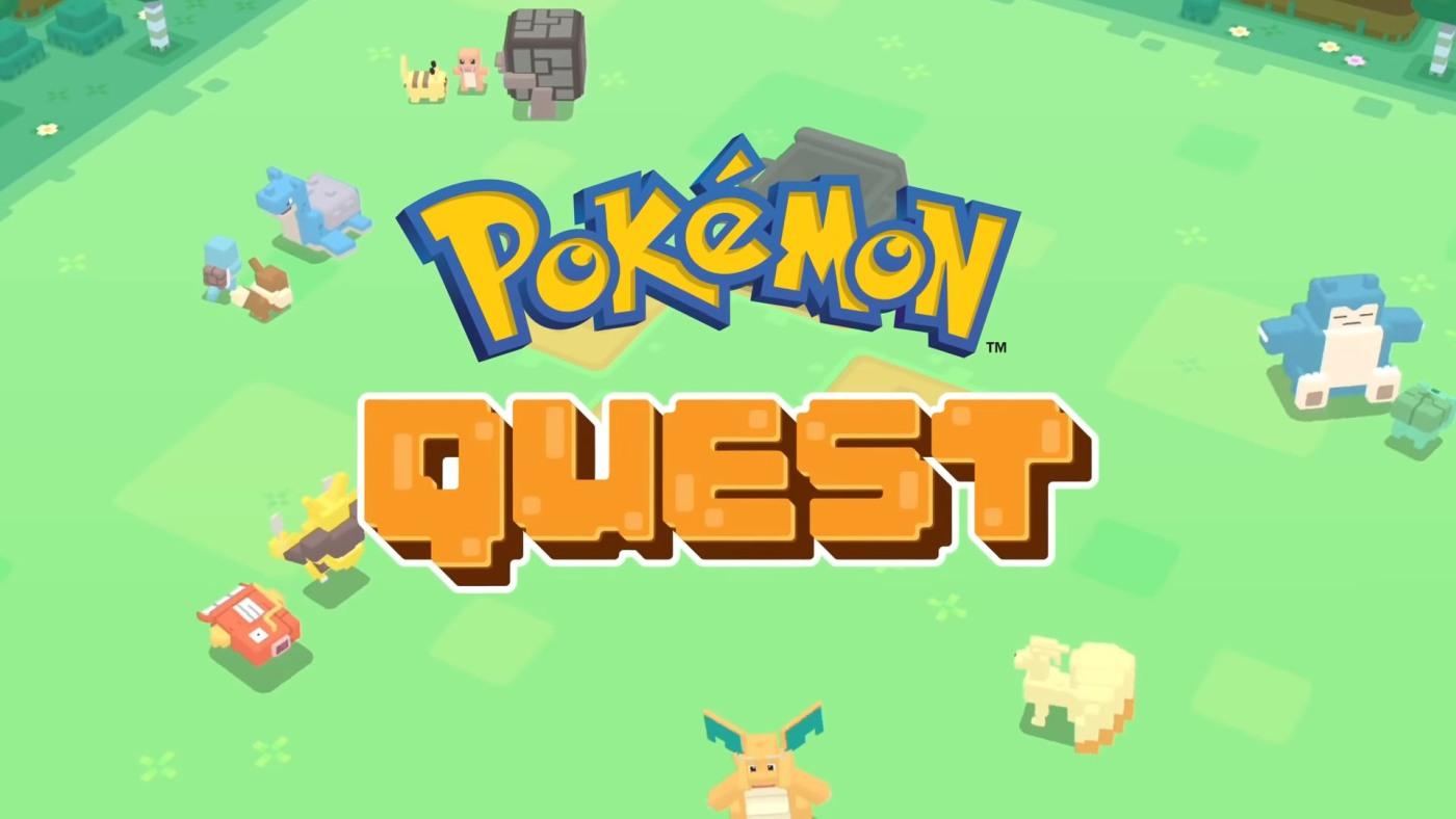 pokemon quest un nouveau jeu gratuit pour nintendo switch. Black Bedroom Furniture Sets. Home Design Ideas