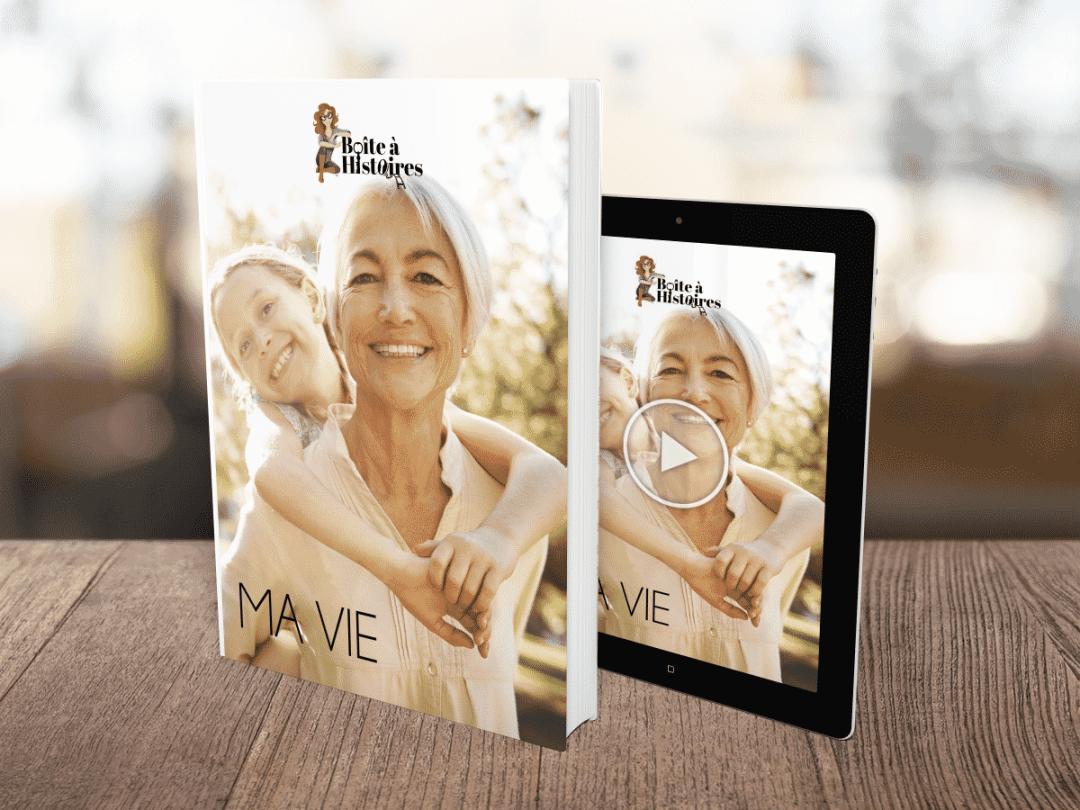 Boîte à Histoires : reporter de ma famille : livre et film