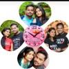 LOVE SHAPE WALL CLOCK