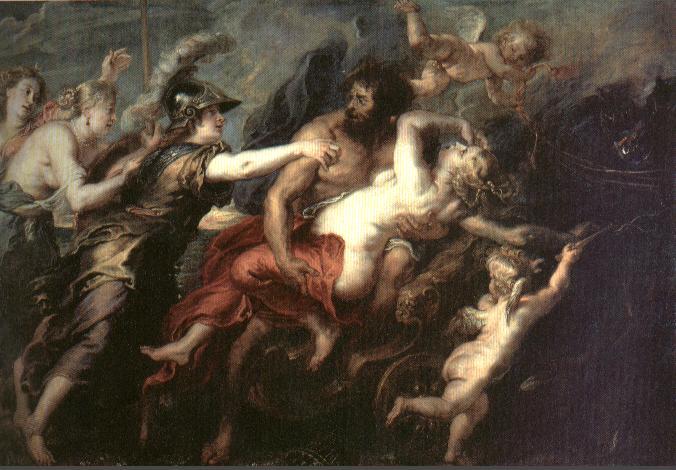 El Rapto de Perséfone - Rubens