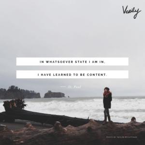 victorious contentment