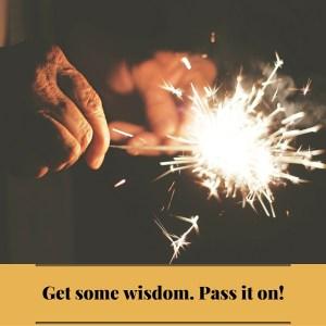 wisdom to share