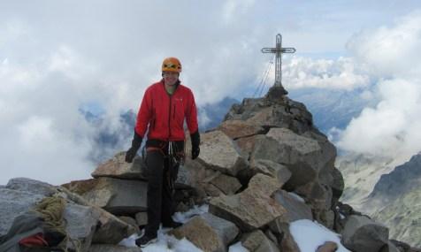 Vrh gore Hochalmspitze (3360 m)