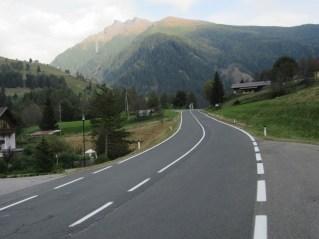 Cesta v Mallnitz