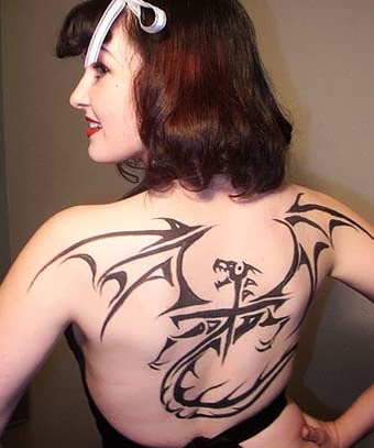 Girl Dragon Tattoos 20