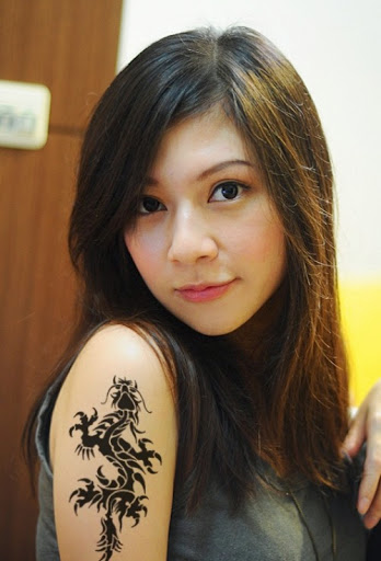 Girl Dragon Tattoos 29
