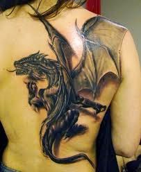Girl Dragon Tattoos 6