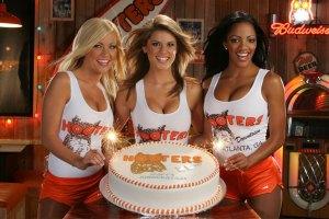 Hooters Girls Cake