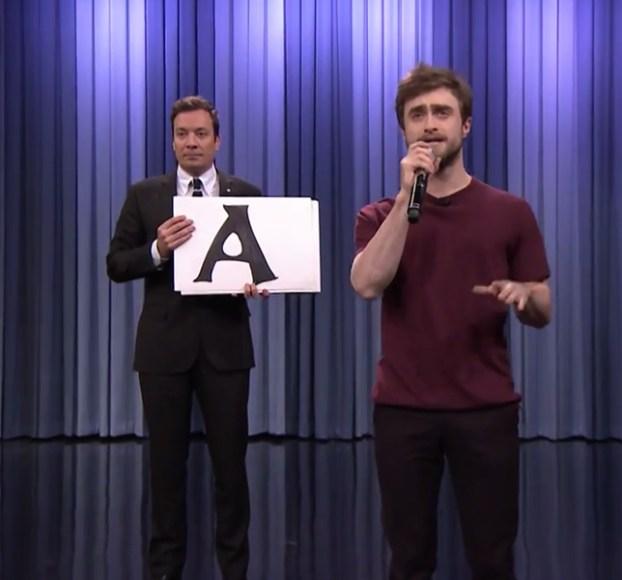 Daniel Radcliffe Rapping