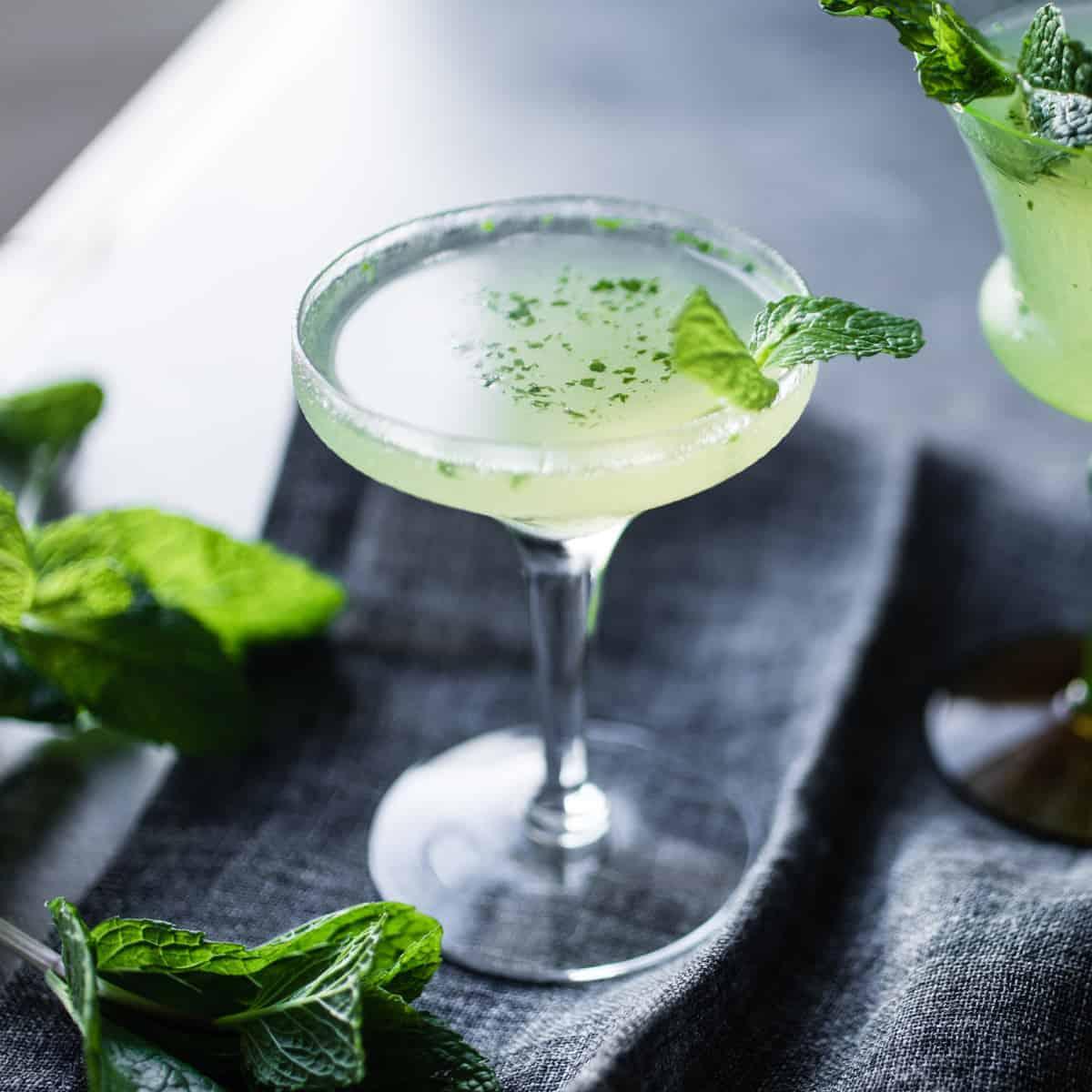 Verdant Lady Chartreuse Gin  Mint Cocktail  The Bojon