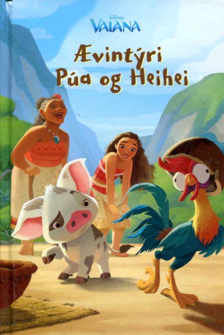 Ævintýri Púa og Heihei - Disneybók