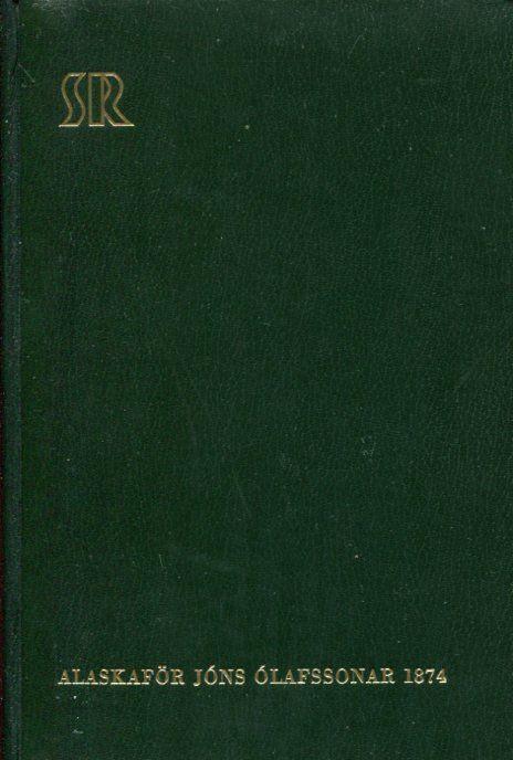 Alaskaför Jóns Ólafssonar 1874