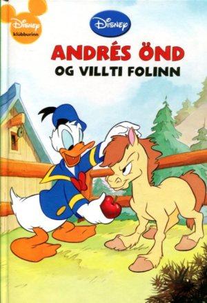 Andrés Önd og villti folinn - Walt Disney - Disnbeybók