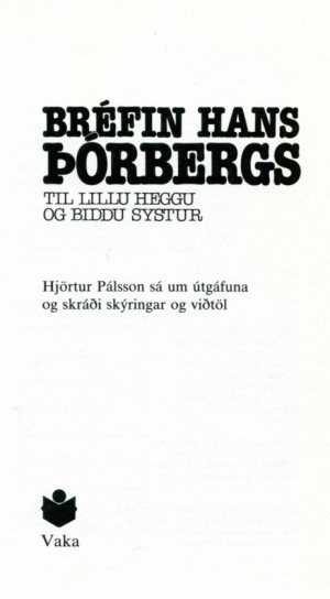 Bréfin hans Þórberg