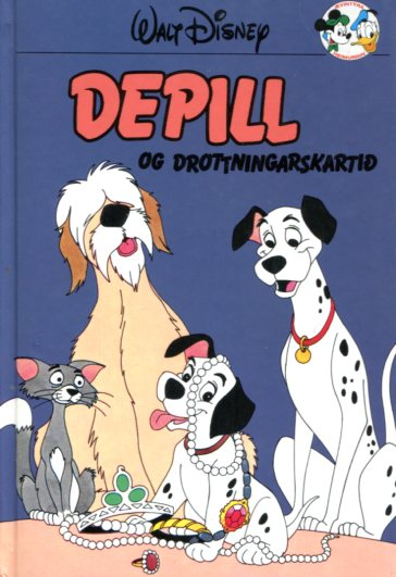 Depill og drottningarskartið - Disneybók