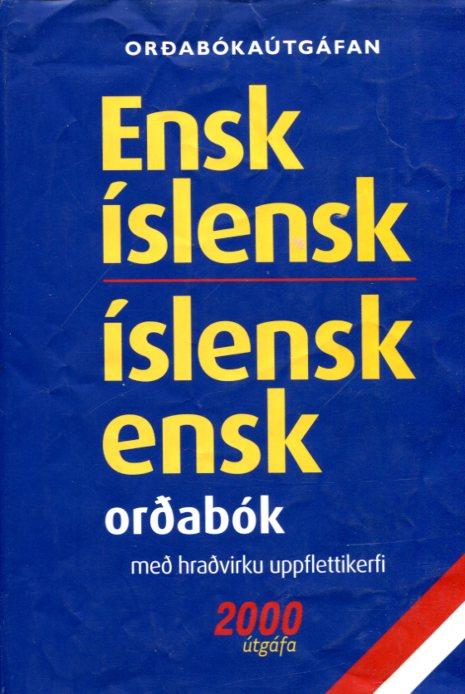 Ensk-íslensk - Íslensk-ensk - orðabókaútgáfan 2000