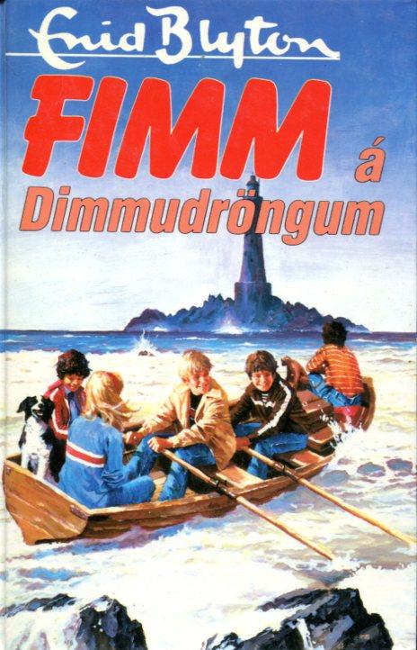 Fimm á Dimmudröngum - Enid Blyton