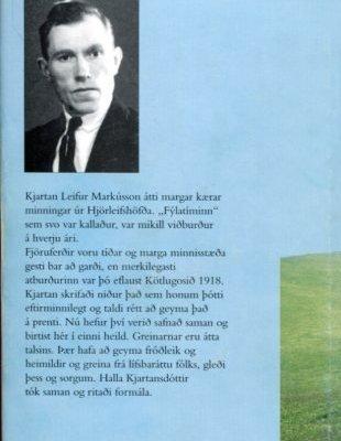 Hjörleifshöfði myndir og minningar bakhlið