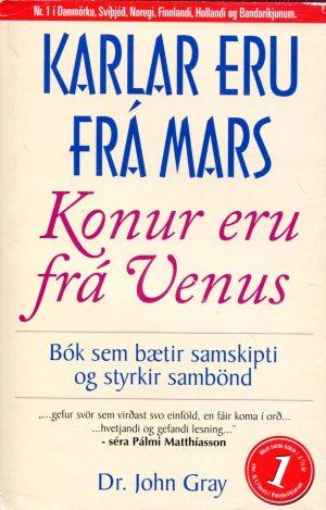 Karlar eru frá Mars konur eru frá Venus - dr John Gray