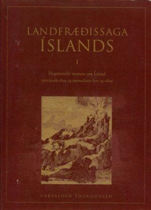 Landfræðissaga Íslands I
