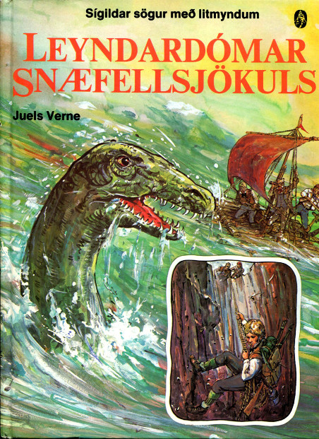 Leyndardómar Snæfellsjökuls - Juels Verne