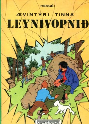 Leynivopnið - Ævintýri Tinna - Hergé