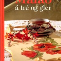 Málað á tré og gler