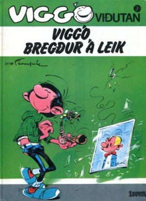 Viggó viðutan bók 7, Viggó bregður á leik - André Franquin
