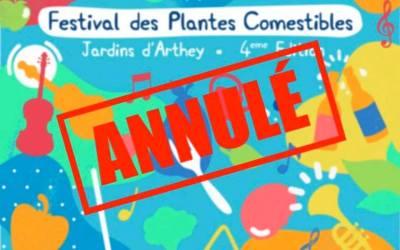 Annulé – Festival des Plantes Comestibles