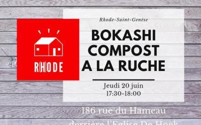 La Ruche RSG dit Oui au Bokashi!