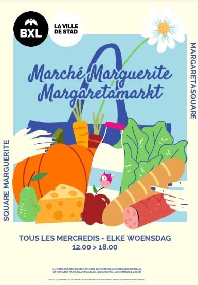 Marché Square Marguerite
