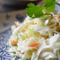 Asian Coleslaw & Cilantro-Lime Brown Rice Sides