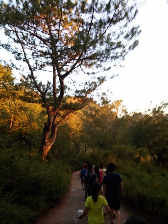 Trekking on the way to Lake Danum
