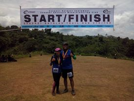 Finished our trail half-mary!