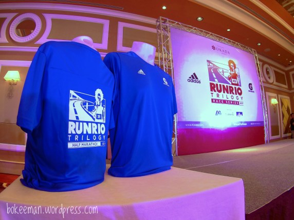 Runrio Trilogy Leg 1 Race shirt