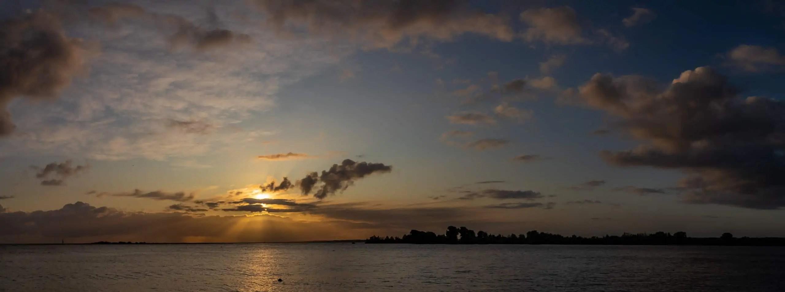 Wyspa Sobieszewska Mewia %C5%81acha wsch%C3%B3d s%C5%82o%C5%84ca 30 - Fotografie do druku
