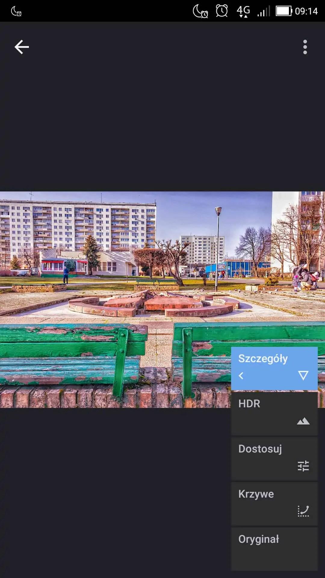 historia edycji w snapseedzie - Snapseed apka do zdjęć dla każdego
